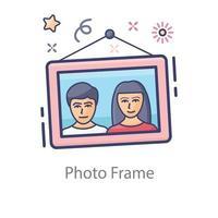 Beautiful Photo Frame vector