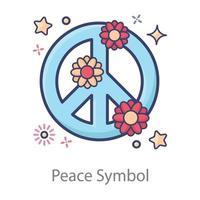 Peace Sign Design vector