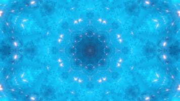 blå dimma och eld gnistor kalejdoskop video