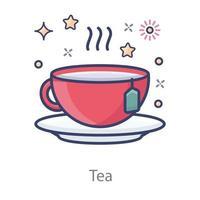 Herbal Tea Design vector