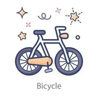 Bicycle  Pedal Bike vector