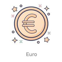Euro  International Currency vector