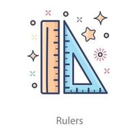Rulers Measuring or Calculating length vector