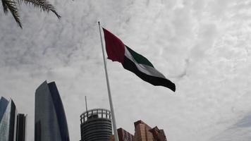 drapeau des emirats arabes unis video
