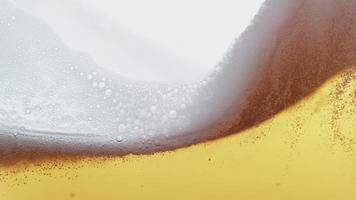 Beer pouring and splashing in super slow motion.  Shot on Phantom Flex 4K high speed camera. video