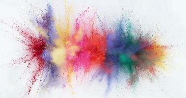 Colorful powder exploding in super slow motion.  Shot on Phantom Flex 4K high speed camera. video