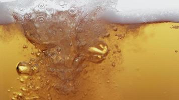 Beer pouring in super slow motion.  Shot on Phantom Flex 4K high speed camera. video