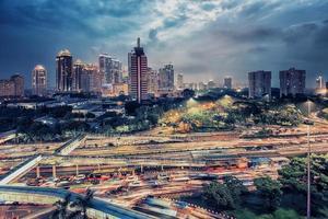 Jakarta city panorama photo