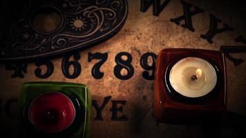 ouija spelbord nummers video