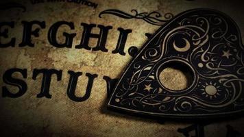 spirituele hekserij ouija bordspel video