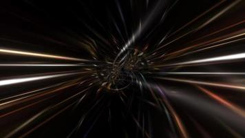 3D Fast Flash Speed Light Hyperspace Tunnel Loop video