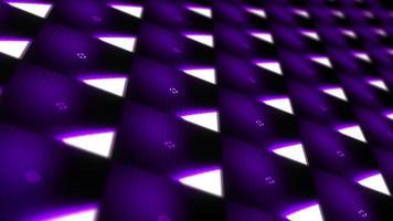 Ten seconds countdown grid pattern modern LED wall video