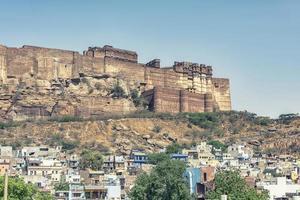 Mehrangarh Fort in Rajasthan  India photo