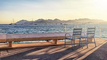 The City of Cannes on the French Riviera photo