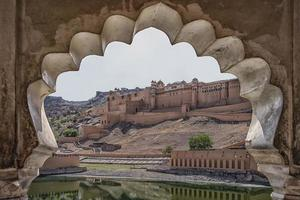 Amber fort in Jaipur  India photo