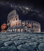 el coliseo en roma italia foto