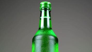 Close up Liquor Bottle video
