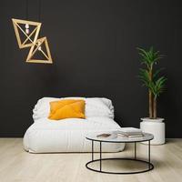 3d rindió el diseño interior moderno foto