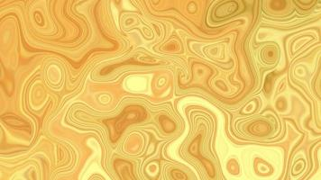 Abstract yellow background with bubble texture video