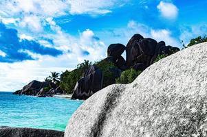 Ocean and granite photo