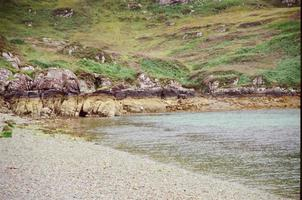 Beach in the Scottish highlands photo