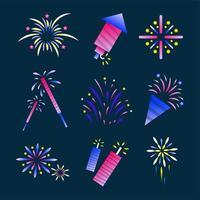 Fireworks Icon Set vector