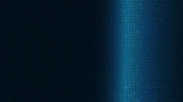 Tecnología moderna sobre fondo azul digital y diseño de concepto de conexión vector