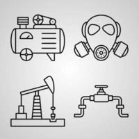 Simple Set of Industry Vector Line Icons