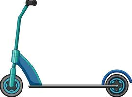 A kick scooter cartoon style isolated on white background vector