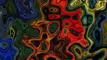 Abstract multicolored textured moving background video