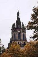 Arquitectura de la catedral en la ciudad de Bilbao España foto