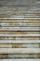 arquitectura de escaleras en la ciudad foto