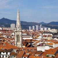 paisaje urbano de bilbao españa foto