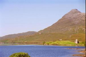 Ruins along the Scottish Highlands photo