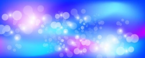 Bright holographic background with sparkles vector illustration