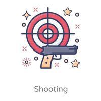 Gun Shooter Game vector