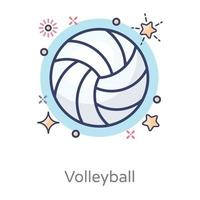 Volleyball Sports Design vector