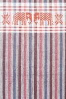 native sarong with elephant pattern photo