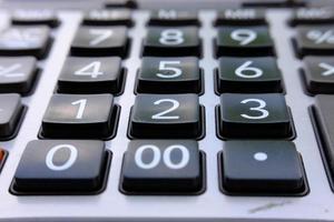 Cerrar calculadora y calculadora macro con número foto