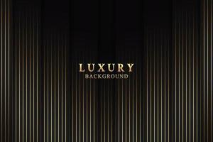 Abstract elegant luxury background concept with black and gold texture vector