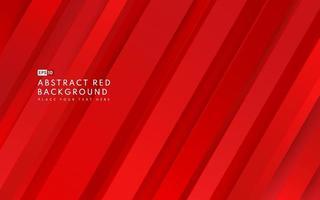 Fondo de color degradado rojo geométrico diagonal abstracto y textura de líneas con espacio de copia. estilo moderno y minimalista. que puede utilizar para folleto de plantilla, cartel, banner web, impresión. vector eps10