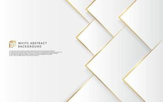 Abstract gradient grey and white paper cut style background with golden light combination . Modern futuristic design. You can use for cover template, poster, banner web, Print ad. Vector illustration