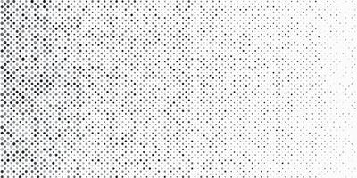 Abstract black and grey halftone dots on white background and texture with copy space. Simple pattern banner design. Vector illustration