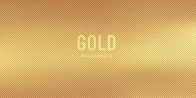 Abstract golden blurred gradient style background with diagonal lines strip textured. luxury and elegant smooth wallpaper. Vector illustration