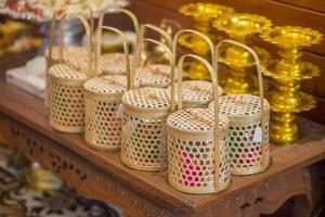 decoración de boda tailandesa foto