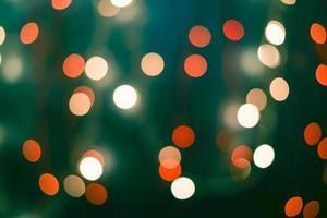 Navidad y feliz año nuevo fondo abstracto desenfocado foto