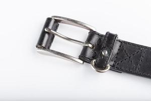 Leather belt, wardrobe accessories photo