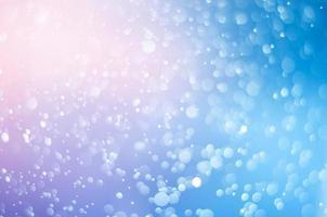 bokeh azul desenfoque de fondo abstracto naranja foto