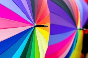 fondo colorido paraguas foto
