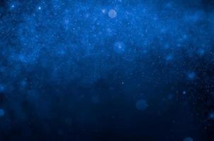Fondo abstracto azul bokeh. foto